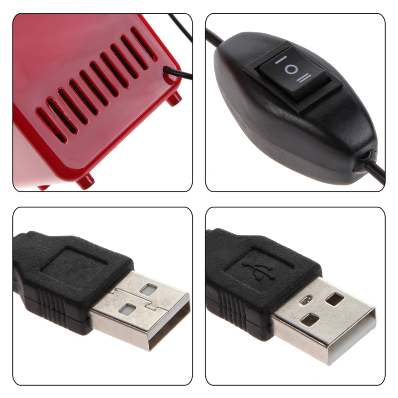 FIFY STORE Mini Frigo USB à LED