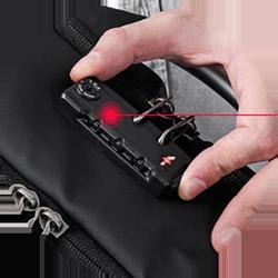 FIFY STORE Sac à dos Mixte Ordinateur 15 pouces + Anti-Vol + Connecteur USB